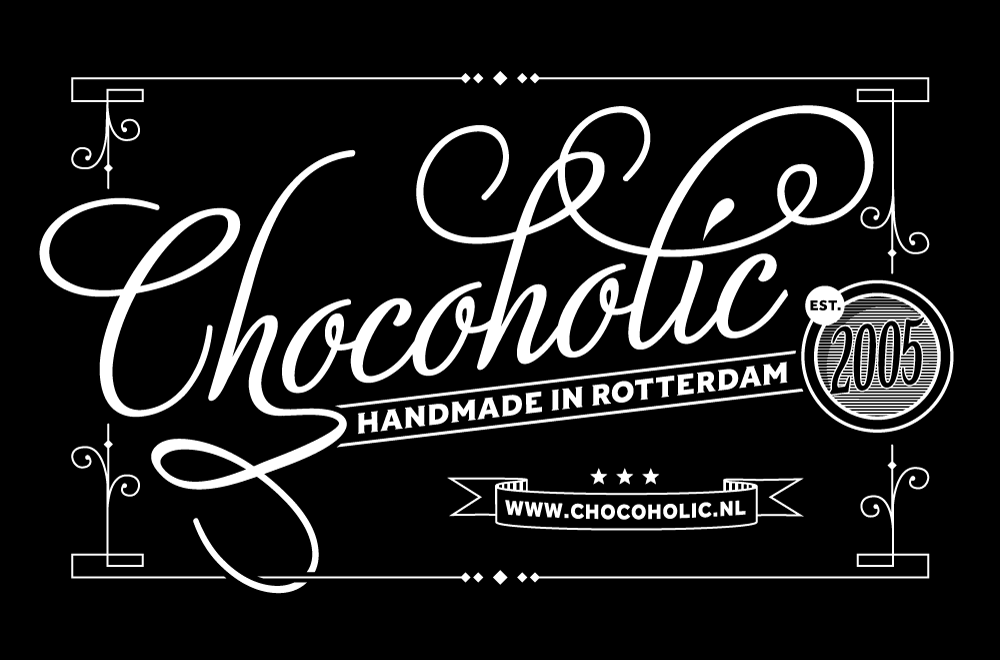 20133277-Chocoholic-Label-h